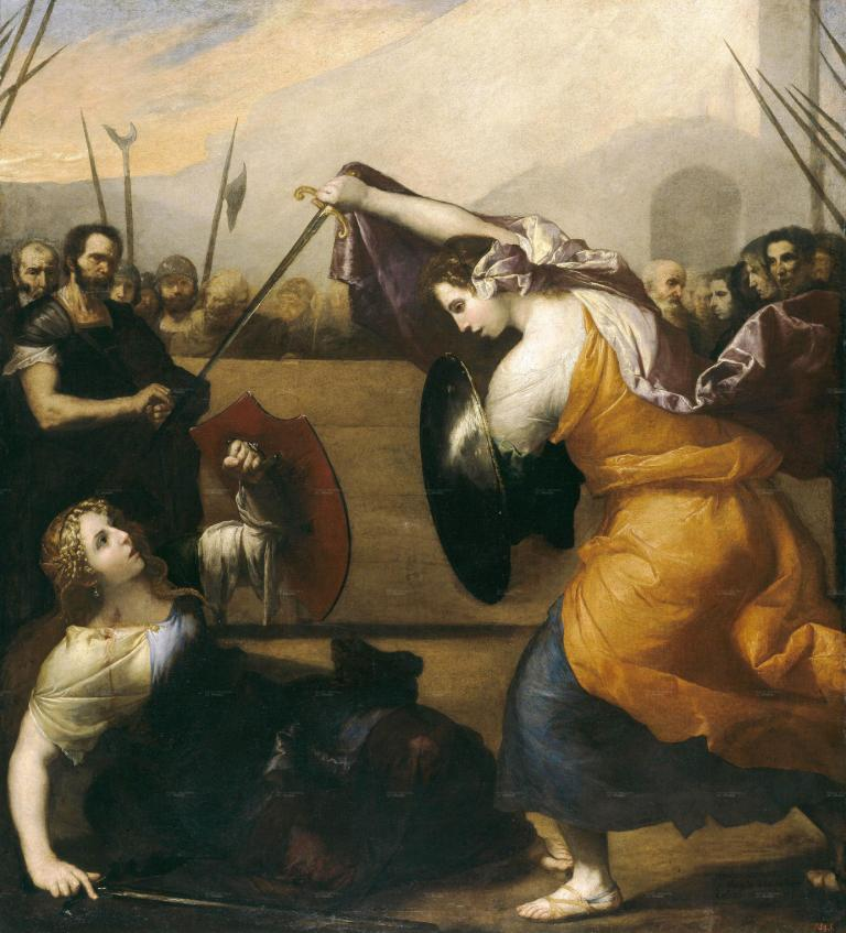 the-duel-of-women-the-duel-of-isabella-de-carazzi-and-diambra-de-pettinella-1636