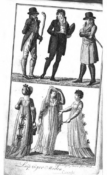 Готский придв кален 1804 моды