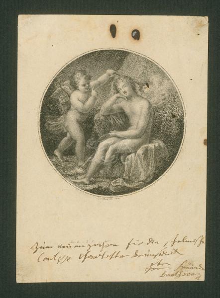 Бетховен Шарлотте Брунсвик открытка