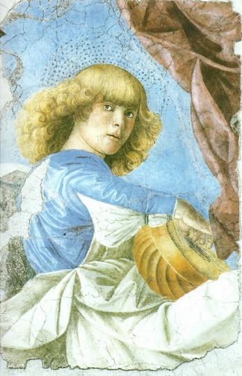 Мелоццо дельи Амбрози 1480 Муз Ватикана
