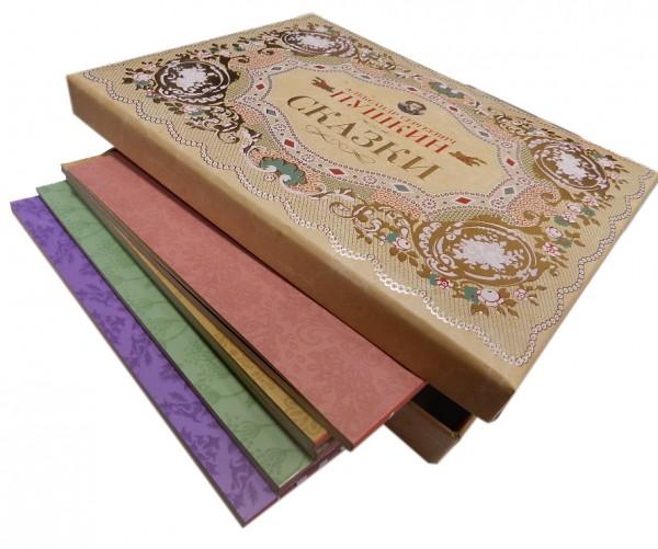 Сказки Пушкина в подарочной коробке
