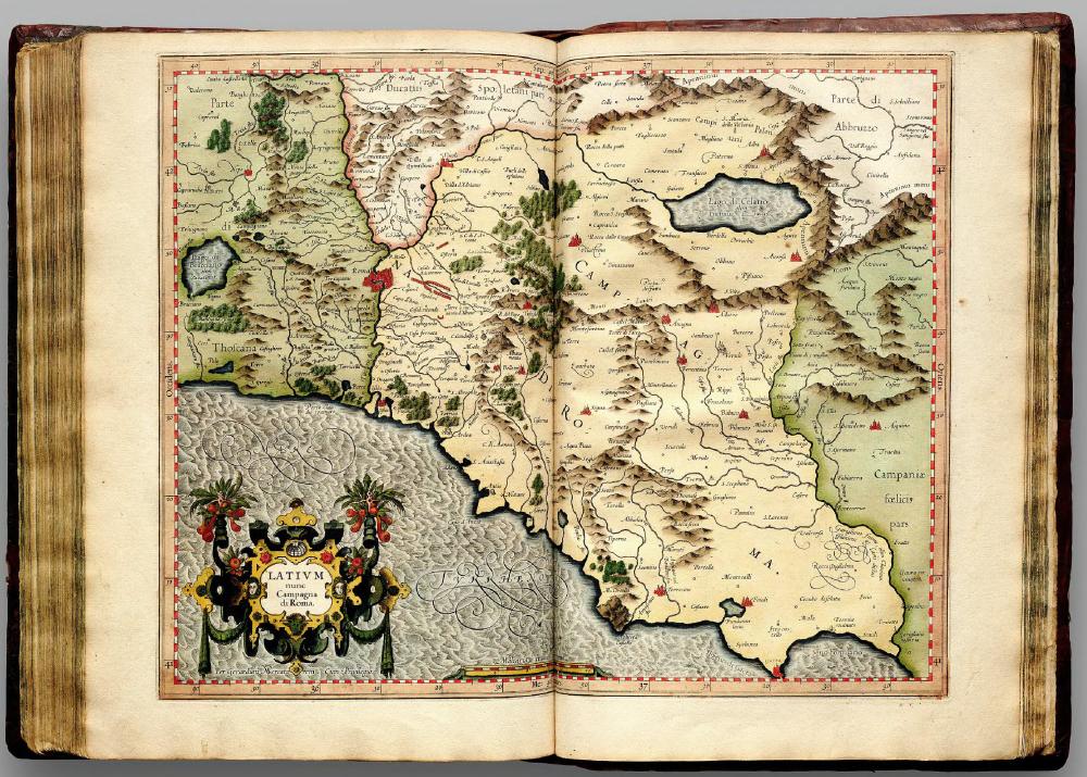 Атлас Герарда Кремер, Дуйсбург, 1595 год.
