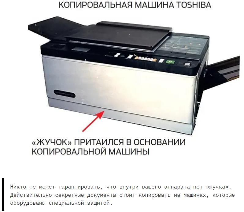 Шпионская история: «жучки» в копировальных аппаратах СССР.