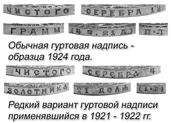 Советский серебряный рубль 1924 года. Факты.