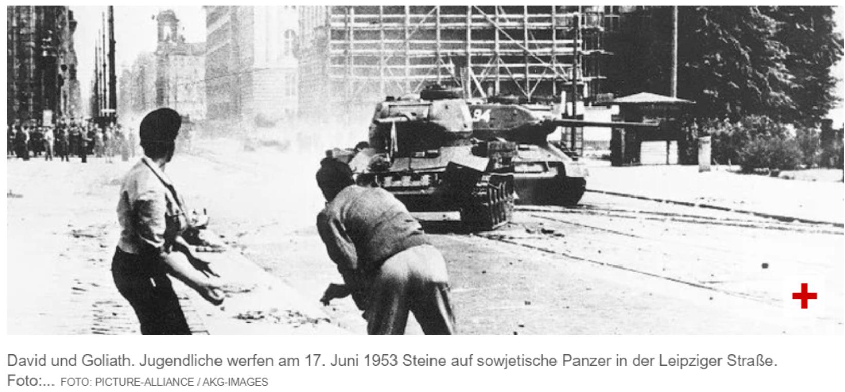 Как советские танки приучали «освобождённых» немцев к социализму.