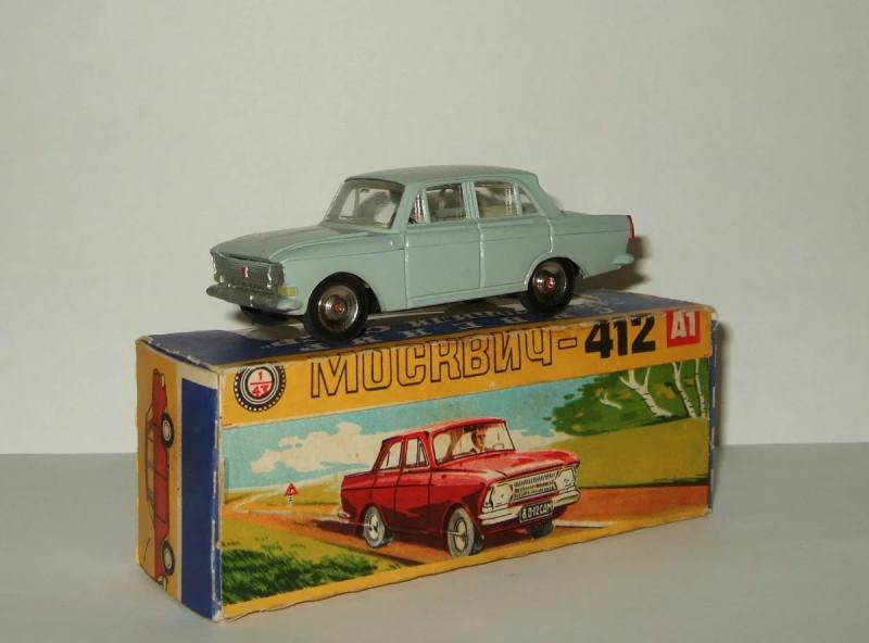Масштабные модели автомобилей СССР: история возникновения и развития.