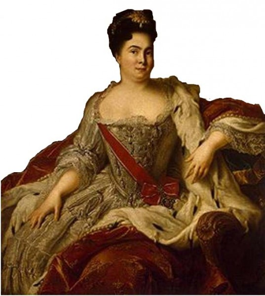 Екатерина I: из безграмотной служанки в безграмотную императрицу.