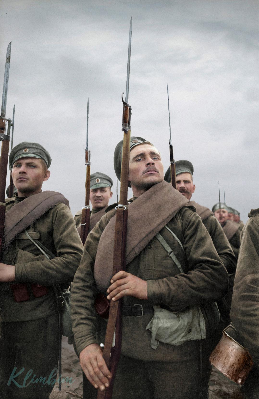 Раскрашенные портреты русских бойцов в Первой мировой войне.: clio_historia  — LiveJournal