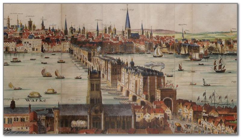 Вид на Сити. XVII век