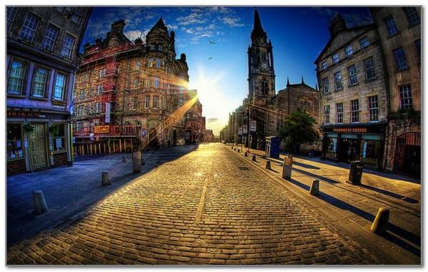 Королевская миля Эдинбурга