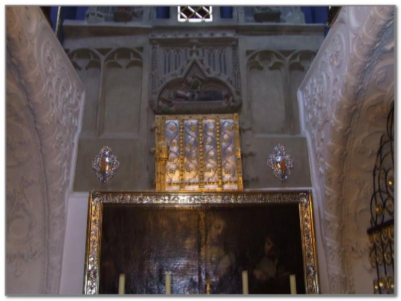 Место захоронения мощей святой Вальпурги