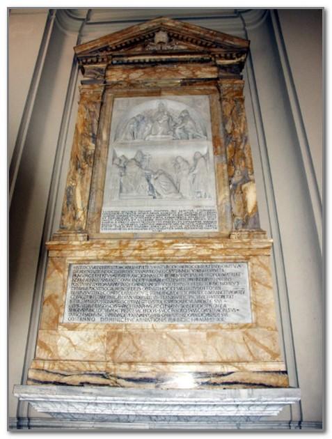Надгробие Сильвестра II в Латеранской базилике