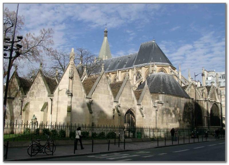 Церковь Сен-Северин в латинском квартале Парижа