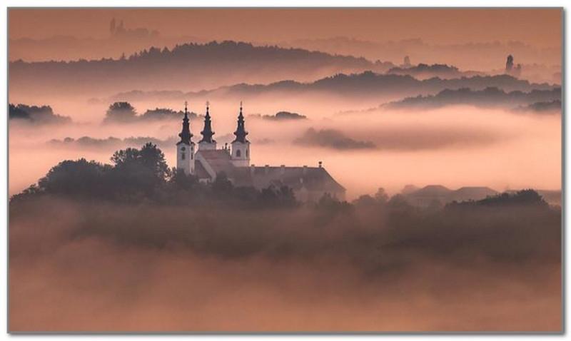 Церковь Святой Троицы в Словении. Автор фото: Питер Зайфрид
