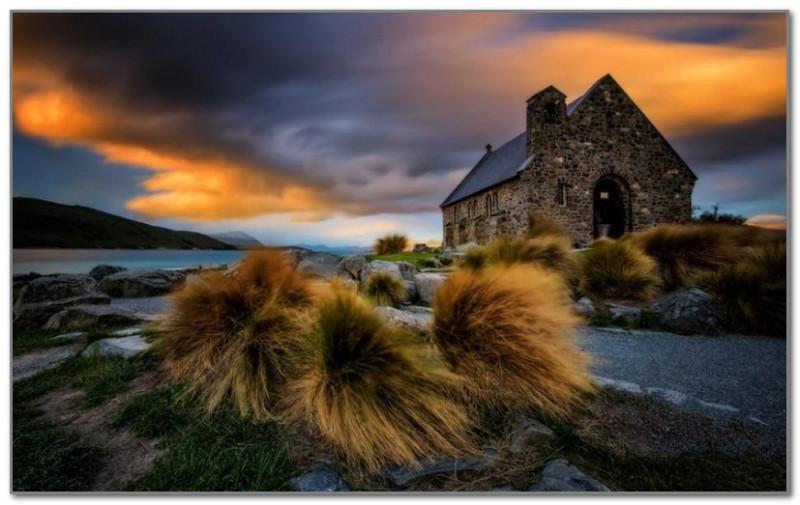 Церковь Доброго Пастыря в Новой Зеландии. Фото Paparwin Tanupatarachai