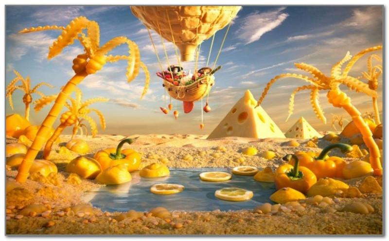 Сырная пустыня