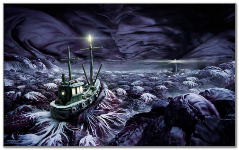 Бурное капустное море