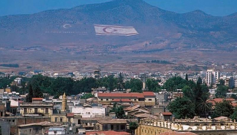 Турецкий флаг над Никосией