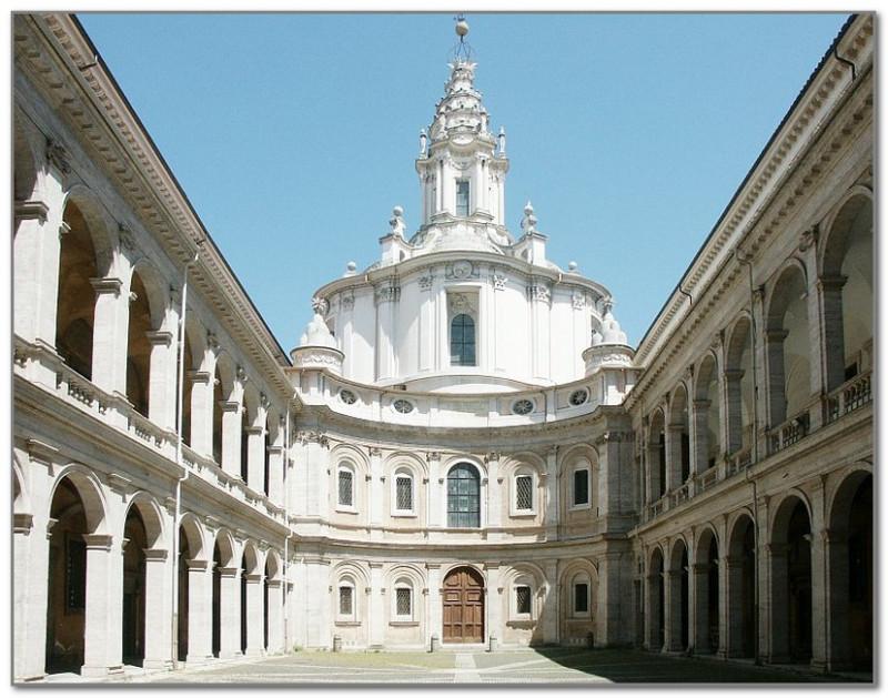 Римская церковь Сант-Иво алла Сапиенца