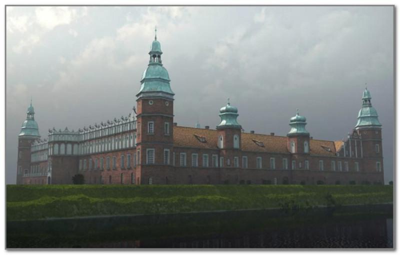 Гольшанский замок (реконструкция)