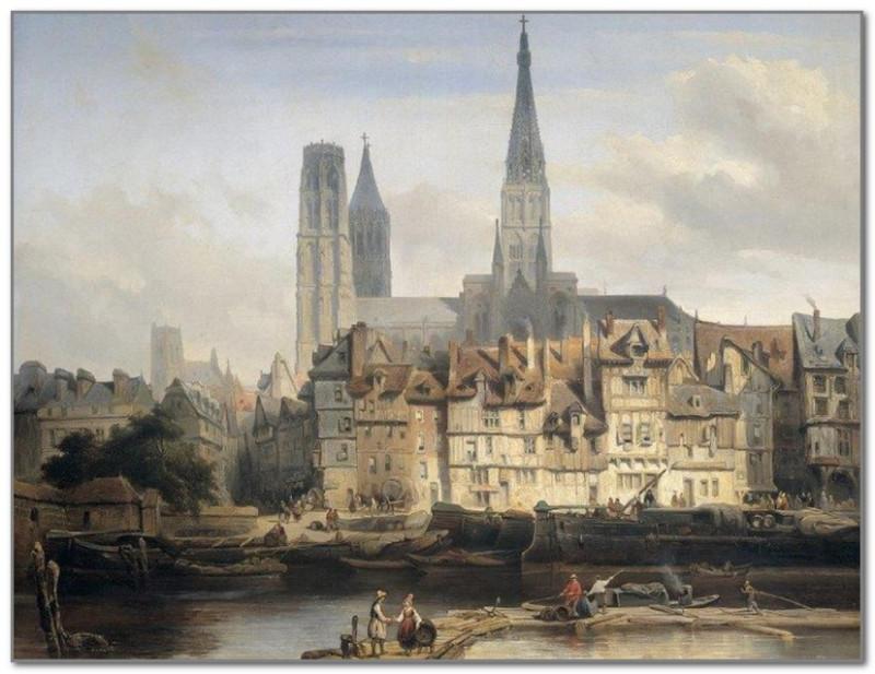 Руан в Средние века