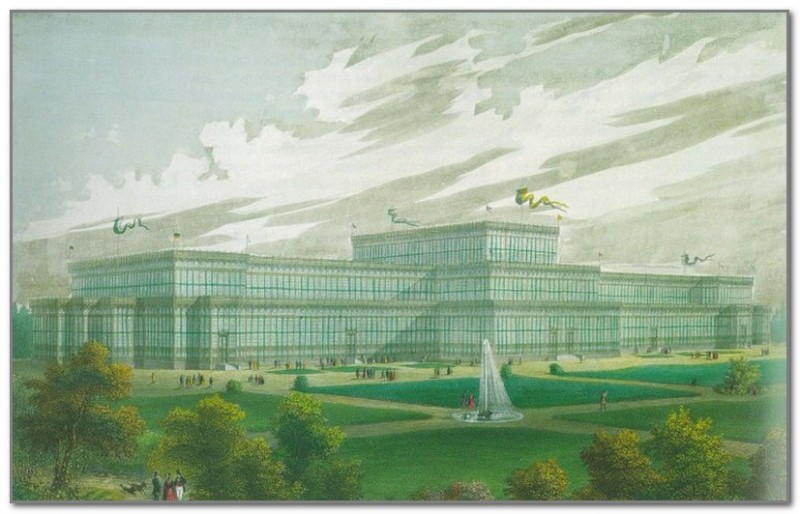 Стеклянный дворец в Мюнхене