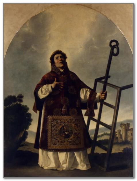 Франсиско Сурбаран. Святой Лаврентий