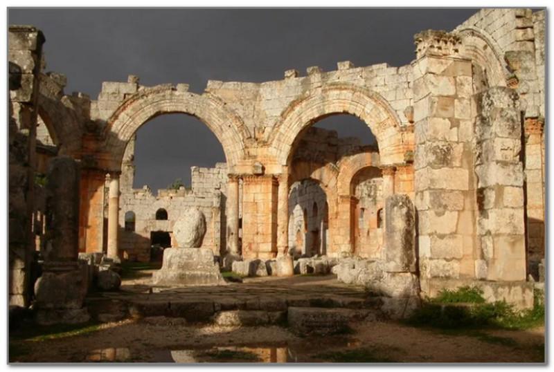 Руины древней Антиохии
