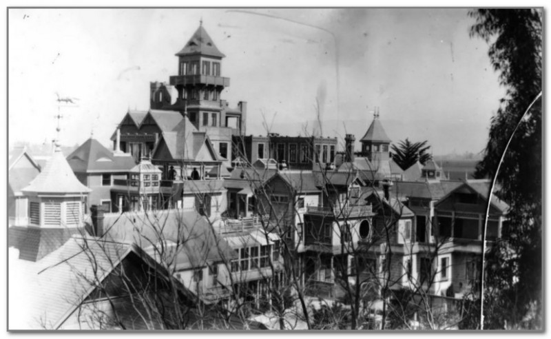 Дом Винчестеров до землетрясения