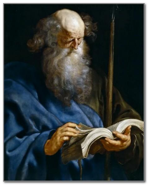 Апостол Фома кисти Рубенса