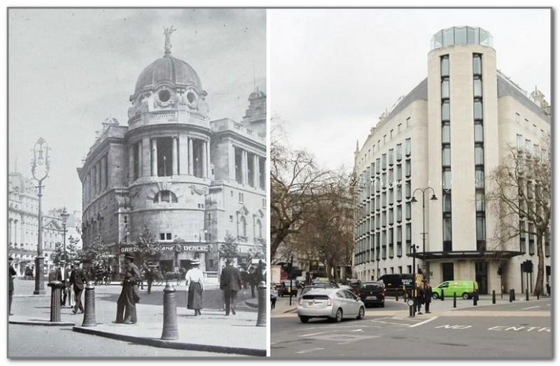 «Театр веселья» на Олдвиче в 1900 году и после современной реставрации