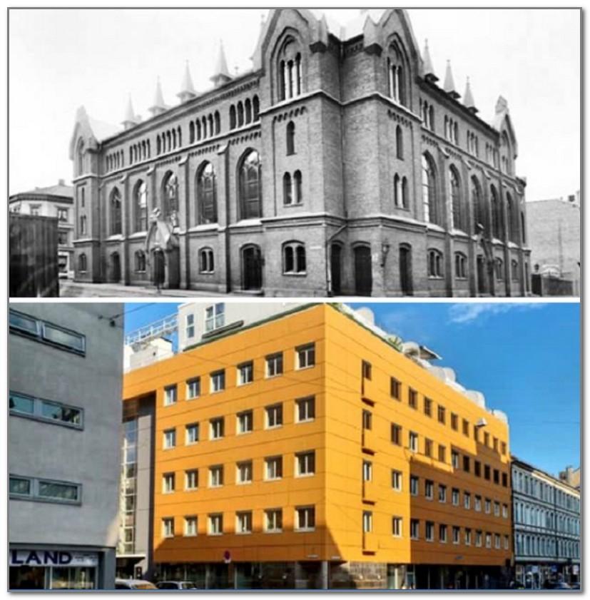 В 1970-х гг. старинное здание превратилось в безликую коробку