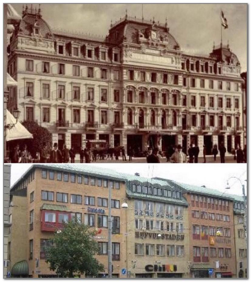 Сейчас бы власти Гетеборга многое отдали за то, чтобы вернуть время вспять и сохранить отель в первозданном виде