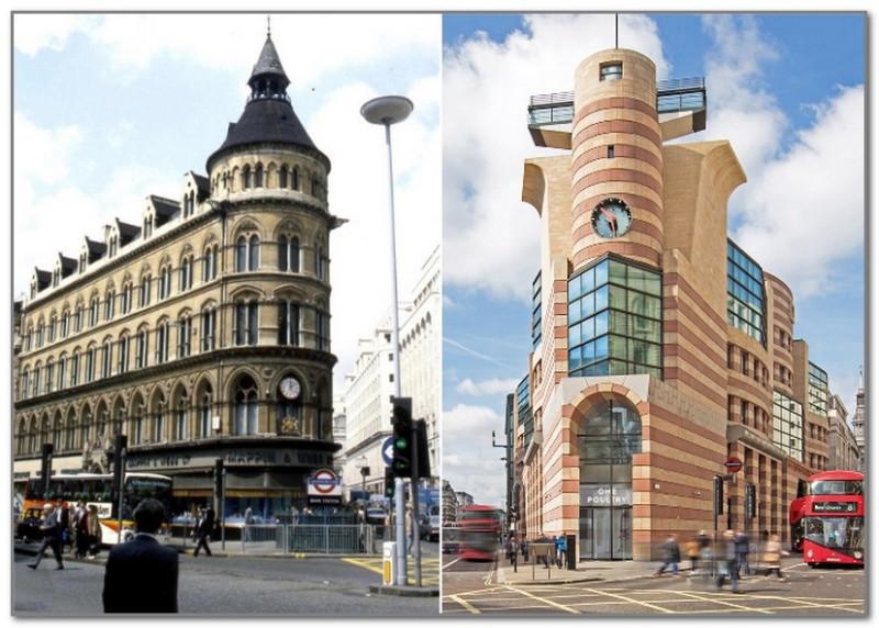 Неоготическое здание Mappin & Webb Building в Лондоне заменил объект, создатели которого напрочь проигнорировали очевидные и традиционные знания о красоте и пропорциях
