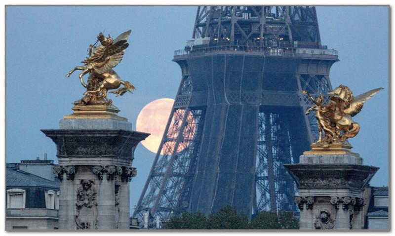 Луна в Париже