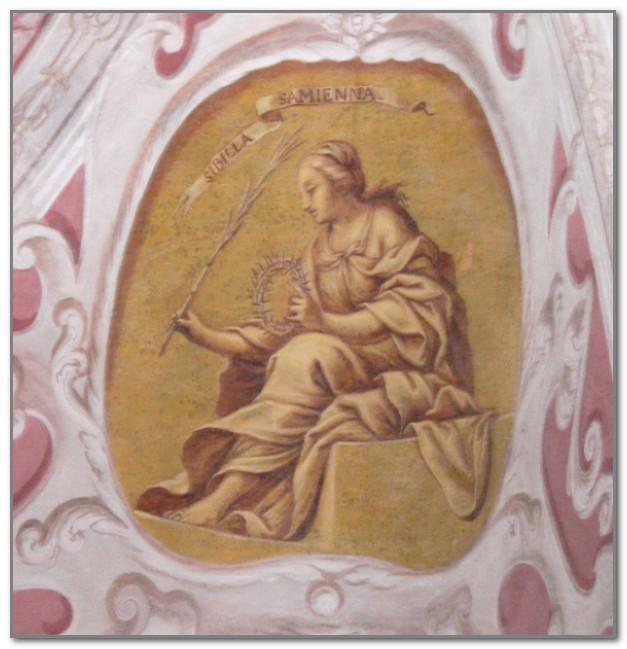 Самосская сивилла. Фреска приходской церкви города Пфарркирхен