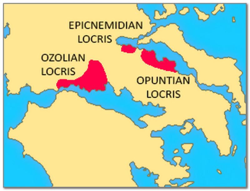 Эпикнемидская Локрида чаще всего считалась частью Опунтской