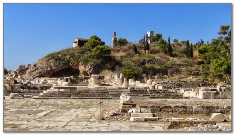 Руины храма Деметры в Элевсине