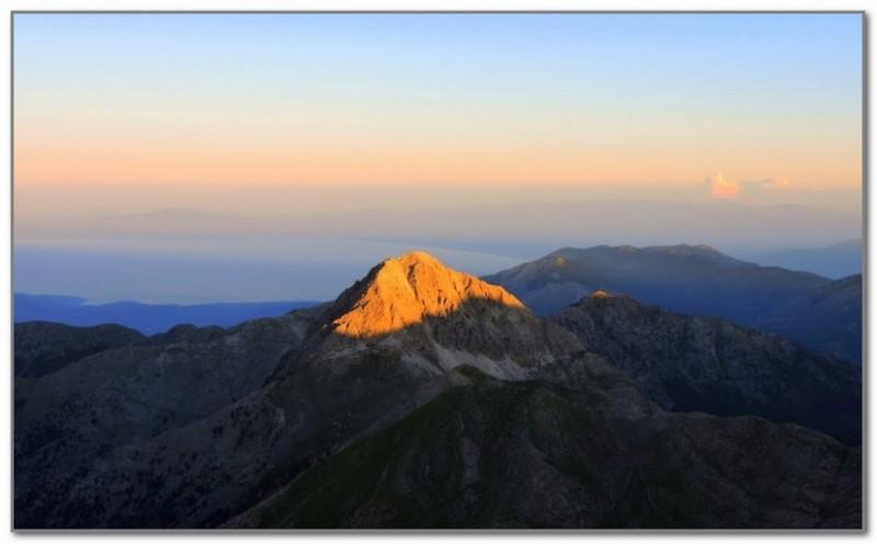 Гора Тайгет
