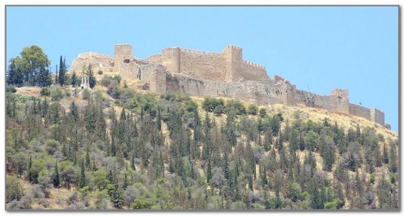 Древняя крепость Аргоса