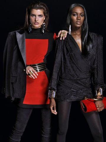 f4750605 Back in May, Balmain announced their collaboration with H&M. Vogue & GQ  have released the mens and womens lookbooks for the collection, which  launches ...