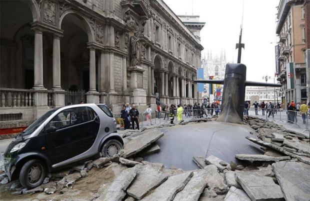 Submarine-in-Milan