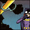 The Batman Strikes #24: Batgirl finds Batman cuffed to a railing and starts snickering