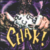 a chain shatters between a woman's hands with the sound CHAK!
