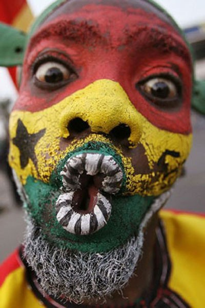 West African Body Art(Ghana)