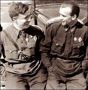 Яков Мошковский и Леонид Минов