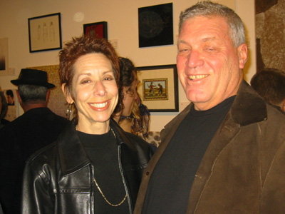 West Hollywood City Council's own Abbe Land and artist Martin Gantman