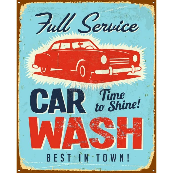vintage-poster-per-celebrare-car-wash