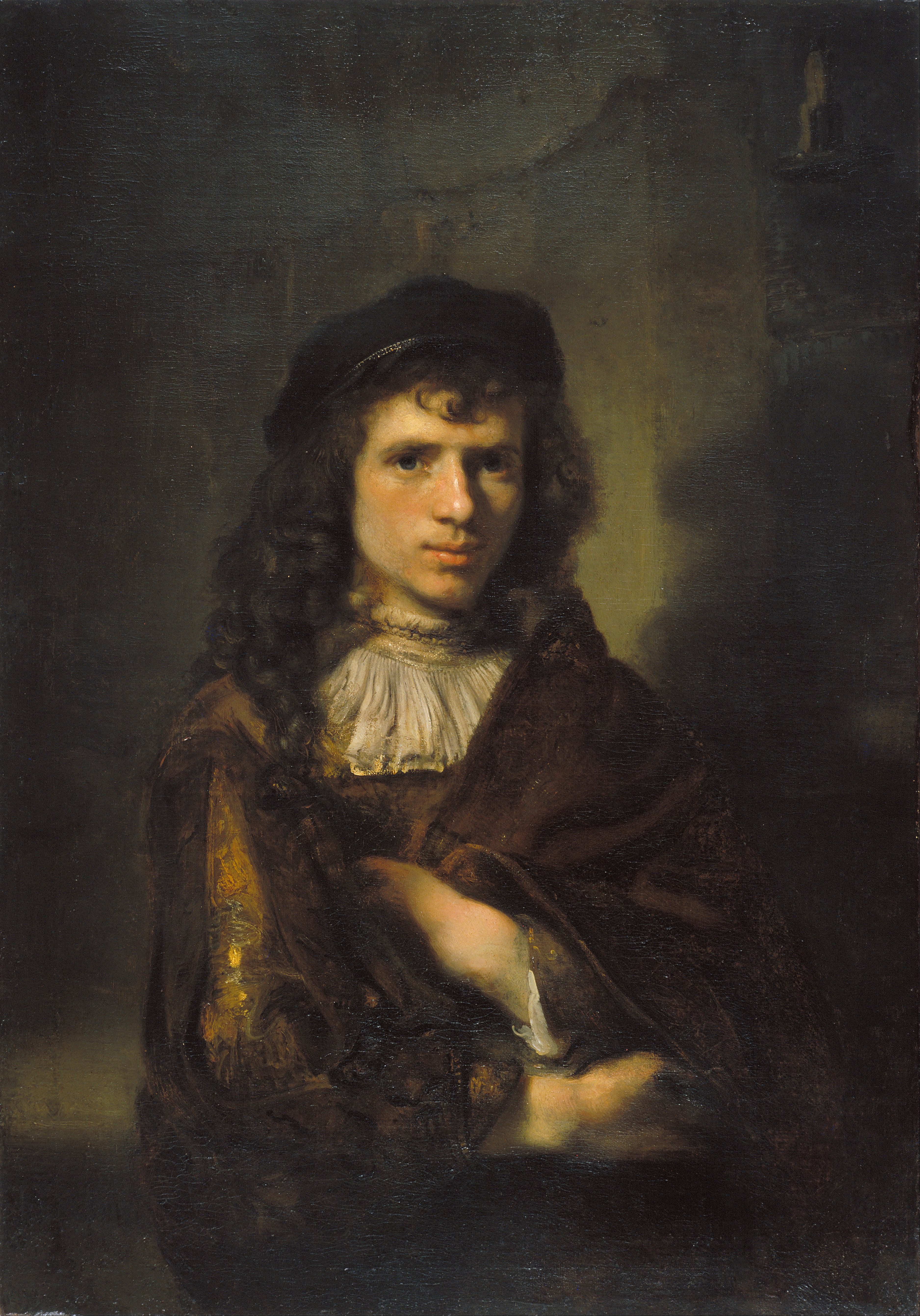 Willem Drost - Portrait of a Young Man