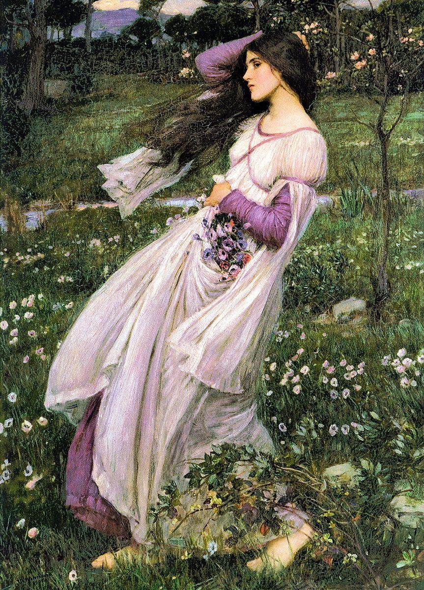 John William Waterhouse - Windflowers, 1903